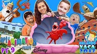 DISNEYS ART OF ANIMATION RESORT TOUR! Finding Nemo, Little Mermaid & Cars HOTEL! FUNnel Summer
