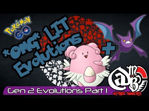 EPIC 100% IV Generation 2 Evolution's in Pokemon GO (Part 1)