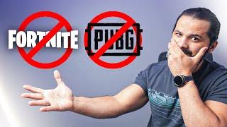 الحظر يمتد إلى PUBG و FORTNITE !