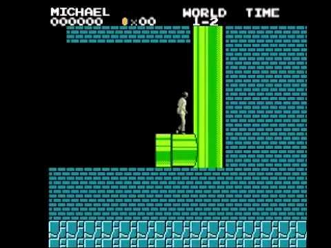 Khi Michael Jacson chơi Mario