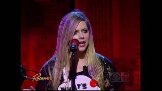 Avril Lavigne - Wish You Were Here / Live With @ Rachael Ray Show