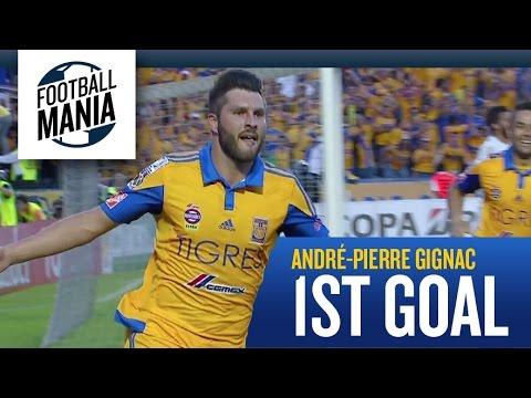 El gol que le marcó a Inter, el primero de la noche.