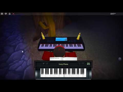 Slow Dancing In The Dark By Joji On A Roblox Piano - song notes for roblox got talent