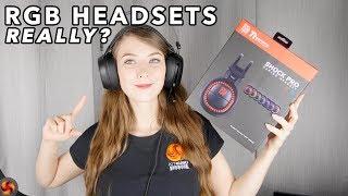 Tt eSPORTS Shock Pro RGB Gaming Headset Review - Yes, MORE RGB!