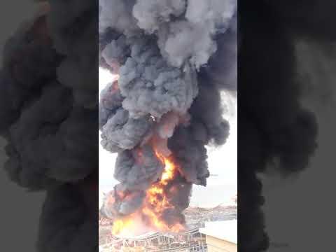 حريق جديد في مرفأ بيروت
