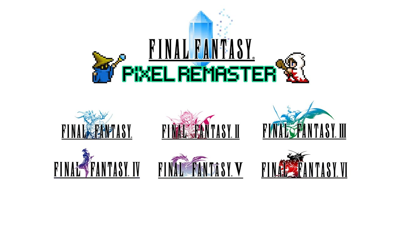 Final Fantasy 1-6 Remaster Collection Announcement