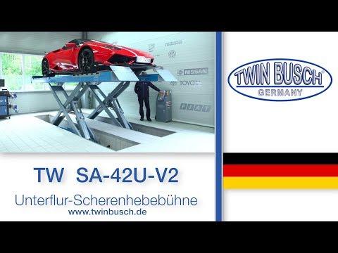 TW SA-42U-V2 Scheren-Hebebühne von TWIN BUSCH ®