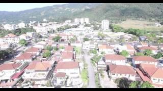 DJI Phantom 3 Pro Air Itam town from Chung Ling High School, Penang