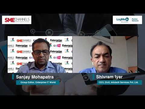 Shivram Iyer, CEO, Dixit Infotech Services Pvt. Ltd.