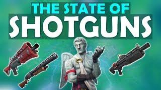 THE STATE OF SHOTGUNS | NEW SHOTGUN IDEA | NO MATS CLUTCHES - (Fortnite Battle Royale)