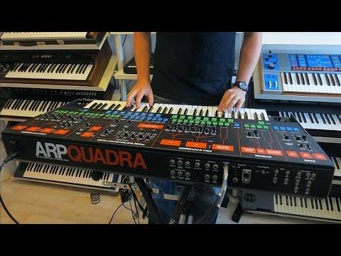 The ARP Quadra Synthesizer – Synthtopia