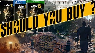 Should you Buy Fallout 76 ? is fallout 76 worth it ? fallout 76 beta review