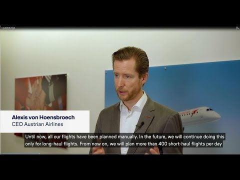 Embedded video for Customer Statement - Austrian Airlines takes off with Lido Flight