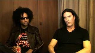 Interview Alice In Chains - William DuVall and Sean Kinney (part 1)