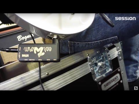 Kong Ear-Worm Kopfhörerverstärker E-Gitarren-Review von session