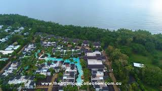 Arial View of Sea Temple Port Douglas