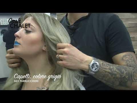 Colore dei capelli 8.1 con olio