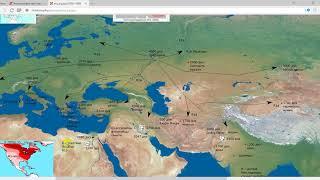 Миграции индоевропейцев из прародины по Евразии