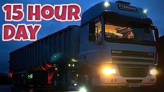 A REAL Day In The Life Of A HGV Tramper.