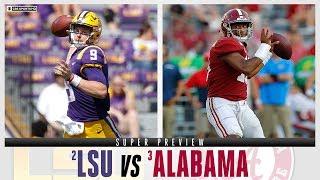 No. 2 LSU vs. No. 3 Alabama: SUPER PREVIEW | CBS Sports HQ