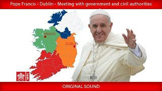 VIDEO FOOTAGE OF POPE FRANCIS' VISIT TO IRELAND FOR THE WORLD MEETING OF FAMILIES. 25TH-26TH AUG