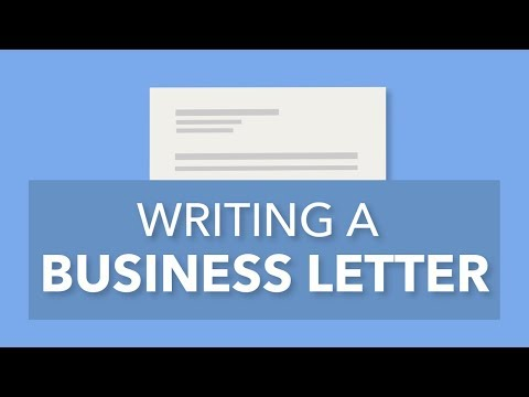 mp4 Business Letter Format, download Business Letter Format video klip Business Letter Format