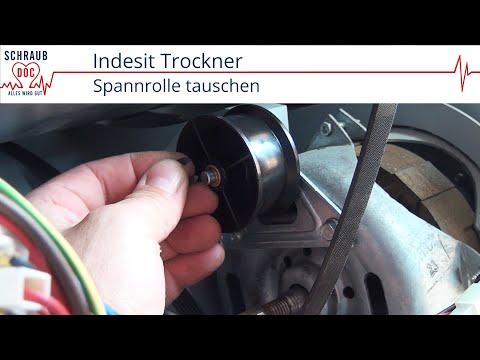 Indesit Trockner - Spannrolle tauschen