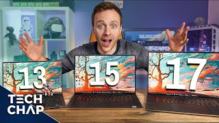 Dell XPS 13 vs XPS 15 vs XPS 17 - Which is Best?   The Tech Chap