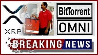RIPPLE NEWS  BitTorrent Announcment & XRP Integration Into OMNI