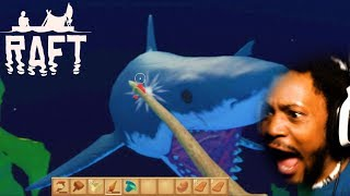 I HATE DEEP WATER GAMES WHY AM I PLAYING THIS | Raft Gameplay (Update)