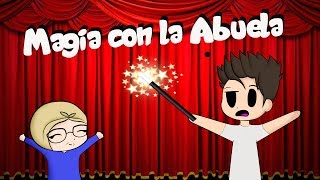 CONVERTO A LA ABUELA RITA EN UN BEBE | Augus y La Abuela Rita