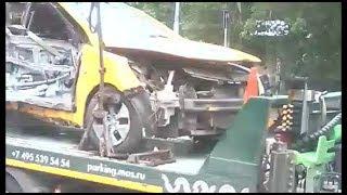 Печальные итоги аварии с такси в Москве