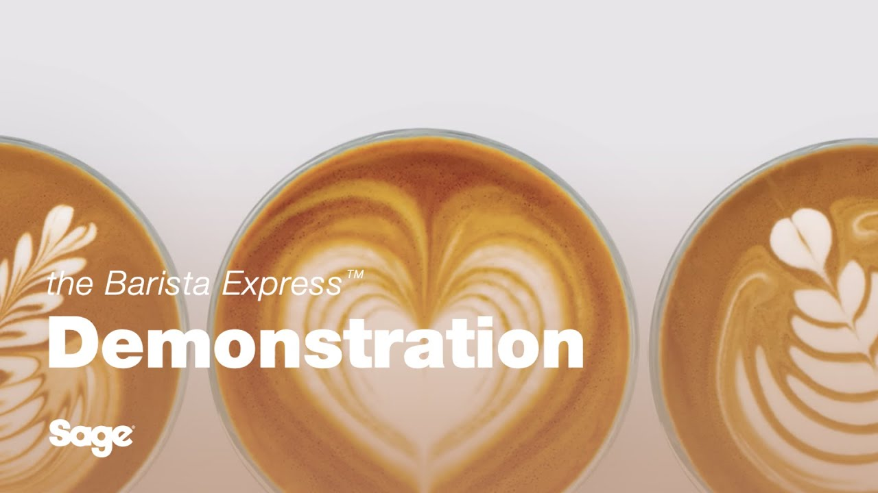 Make a latte with the Barista Express™