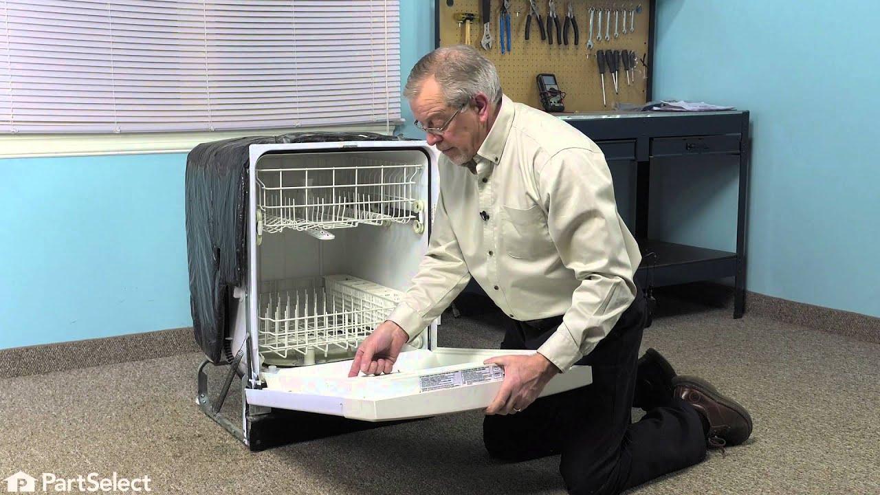 Replacing your Frigidaire Dishwasher Door Latch and Gasket