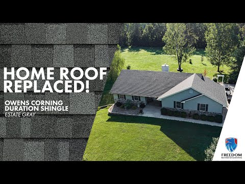 Estate Gray OC roof gets installed in Warrenton, Missouri