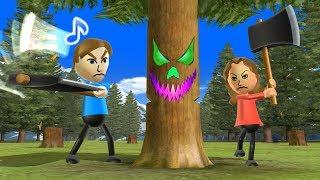 Wii Party Minigames - Player Vs Kathrin Vs Giovanna Vs Emily
