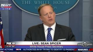 FULL: Sean Spicer White House Press Briefing 2/21/17 (FNN)