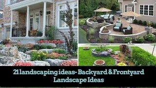 🌺21 DIY Landscaping Ideas- Backyard & Front Yard Landscape Ideas| Home Decor | Flamingo Mango |🌺