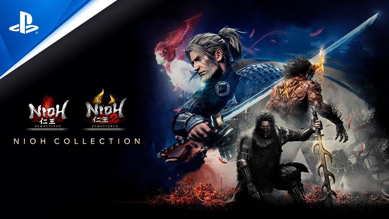 Descubre la saga completa de Nioh para PS5 con La colección de Nioh, a la venta mañana