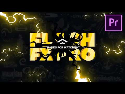 140 Flash FX Premiere Pro Templates | Animation Fx | Cartoon