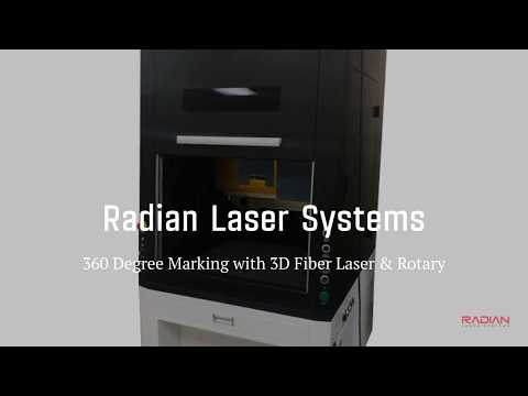 Radian Laser Systems - 360 Degree Marking Using the Rotary Attachment Tool