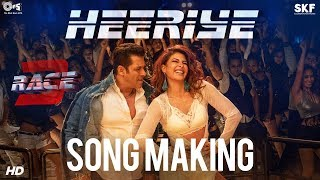 Heeriye Song Making  Salman Khan