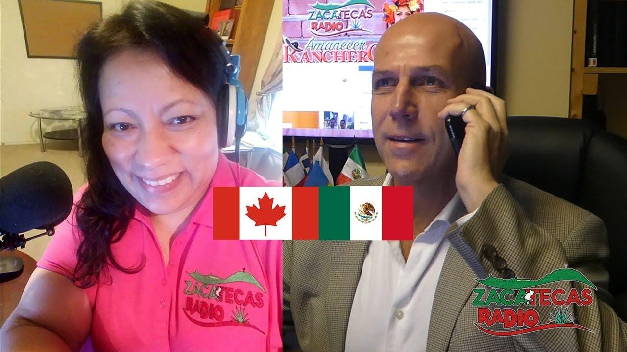 Mexico Canada viaje de negocio y de pasantia