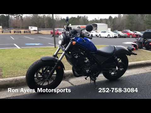 2018 Honda Rebel 300 in Greenville, North Carolina - Video 1