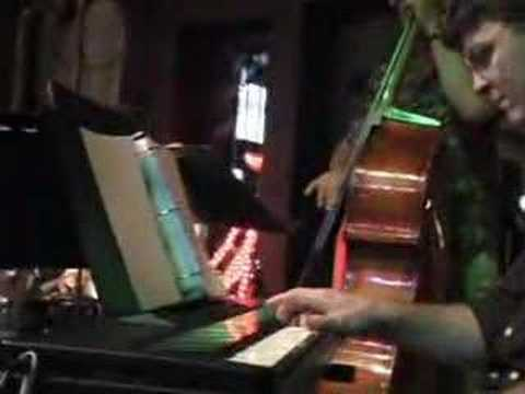 "Robin Stine Trio in Pensacola, Florida performing her original ""Sweet Blossom"" in Jan. 2008."