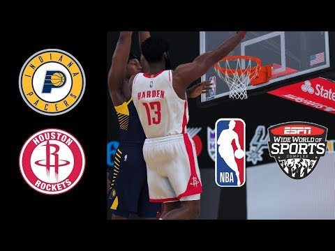 PACERS vs ROCKETS FULL GAME HIGHLIGHTS AUGUST 12, 2020 | NBA 2K20 Modded Gameplay