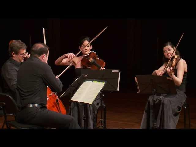 Mozart: Quartet in B flat maj K. 159 (II. Allegro)