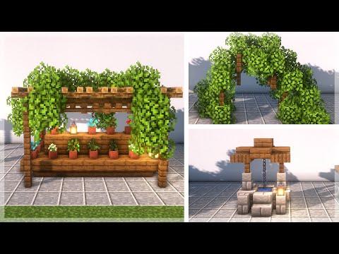 Minecraft: 30 Garden Build Ideas and Hacks