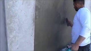 לוחות בטון - איך לחפות קירות בצורת לוחות בטון אדריכלי