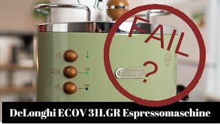Delonghi ECOV 311 GR Espressomaschine – Das Zeug zum Staubfänger?